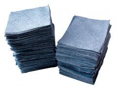 蓝色麻面工业擦拭纸