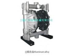 上海仁公鋁合金氣動隔膜泵RG20、不銹鋼氣動隔膜泵、柱塞泵