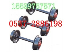 礦車輪對,直徑350軌距600礦車輪,礦車輪子,鑄鋼礦車輪