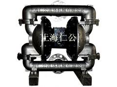 上海仁公不銹鋼氣動隔膜泵RG80、粉塵氣動隔膜泵、手動隔膜泵