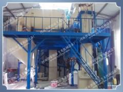 飞龙行业领先设备,无机保温砂浆成套生产线
