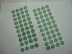 PET綠色膠帶模切