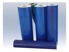 PE柔软蓝色网纹保护膜
