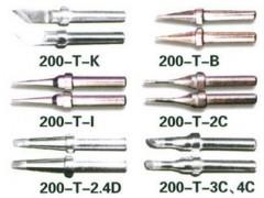 (高品質)200-K 刀型烙鐵頭 適用快克203H烙鐵咀