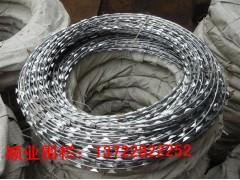 蛇腹型刀片刺繩,刀片刺網,蛇腹網,刀片焊接網