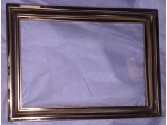折彎線割焊接拋光玫瑰花紋蝕刻不銹鋼畫框 不銹鋼畫框廠家