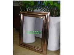 供應圓形不銹鋼鏡框/不銹鋼畫框邊框/化妝間不銹鋼鏡框