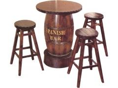 供潍坊碳化木桌椅南通户外桌椅西安酒吧桌椅淄博实木桌椅