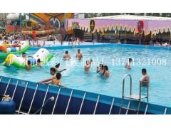 佛山支架水池中山游泳池支架兒童水池充氣闖關玩具國外城堡