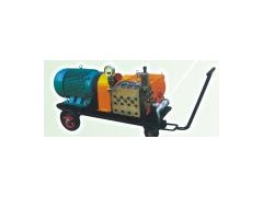 页岩炼油厂换热器清洗用高压水清洗机