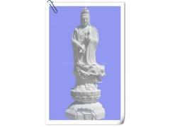 精品石雕滴水觀音雕像 漢白玉滴水觀音雕塑 大理石滴水觀音