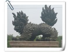 曲阳石头记雕塑石雕走麒麟雕像 大理石走麒麟雕塑品