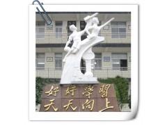 精品石雕校园雕塑之腾飞雕像 汉白玉腾飞雕像 大理石腾飞雕塑