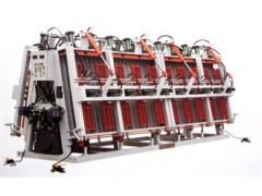 集成材拼板機油壓雙面A型拼板機最新供求商機雙面拼板機視頻