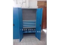 番禺雙開門工具柜,花都帶掛板工具柜圖片,廣州鋼制工具柜廠家