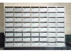 重慶不銹鋼信報箱制作、小區信報箱價格、別墅信報箱廠家