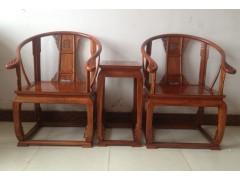 花梨木圈椅批發價格 刺猬紫檀家具廠家