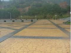 麗水園林彩色壓膜地坪多少錢一平方