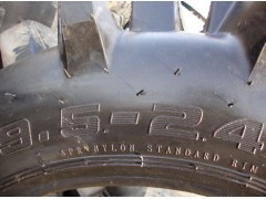 供应高品质农田机械高花纹水田轮胎9.5-24
