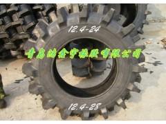 供應高品質農田機械高花紋水田輪胎12.4-28