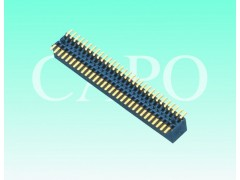 0.8x1.2排母SMT 贴片式 塑高3.1 连接器