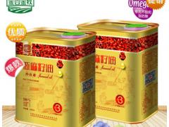 """內蒙古""""金谷金牧""""亞麻籽油 500ml鐵桶"""