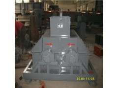 復合肥專用新型設備—ZLP型大粒返料專用振動鏈式破碎機