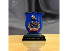 優秀黨員水晶獎牌制作、優秀警察獎牌獎杯制作、特種兵紀念品