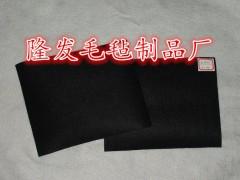 供應玻璃切割機臺面羊毛氈,高密度毛氈板