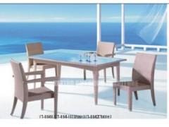 雅亭仿藤时尚休闲桌椅