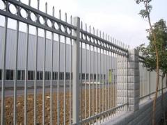 贵阳楼盘小区喷塑栏杆 花园小区锌钢护栏 安全防护