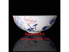 陶瓷禮品壽碗生產廠家,老人壽辰壽碗燒字定制