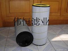 長纖維聚酯除塵濾筒