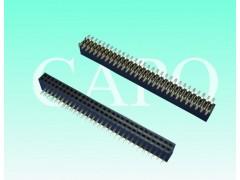 1.27mm排母针座 单排H4.3 SMT连接器
