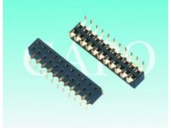 2.54mm蜈蚣腳排母 針座 雙排 H5.0連接器