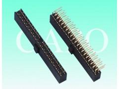 2.54mm排母双排H8.5  90度DIP连接器