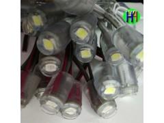 供应超高亮台湾外露灯串外露灯大角度一个顶三个贴片外露灯