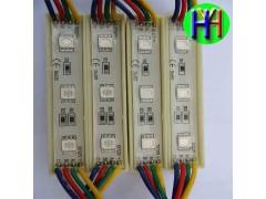 厂家直销LED七彩发光模组七彩模组整体变化七彩广告字模组正品