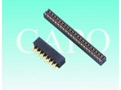 2.0mm排母針座单/双排塑高4.0/4.3/4.6 DIP