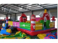 贵阳充气喜洋洋城堡价格贵州充气儿童乐园采购广州飘彩气模最好