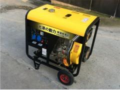 7KW開架式柴油發電機