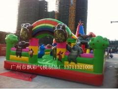 蘇州充氣城堡充氣模型定做佛山充氣趣味道具江門充氣大黃鴨