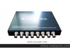 8路视频+1路数据 视频光端机