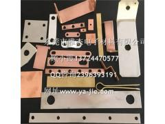 叠层铜编织线软连接型号 泰安雅杰高品质镀锡铜编织带软连接