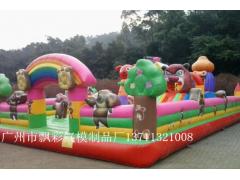 广州飘彩气模制品厂制作充气户外玩具儿童充气?#32420;?#23612;城堡