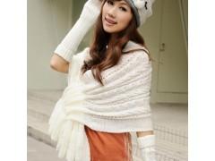 针织小披肩 秋冬时尚必备单品