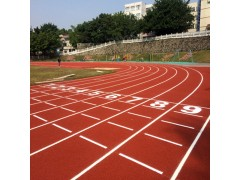 廣東深圳塑膠跑道材料廠家 塑膠跑道工程施工