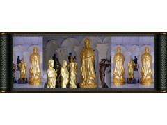 互联网线上与线下实力派雕塑厂家制作佛像工厂