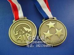 锌合金立体奖牌订做,压铸奖章制作,上海集团员工勋章订做