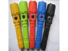 5號兩節塑料手電筒 照明工具 五色LED手電筒